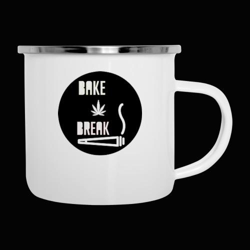 Bake Break Logo Cutout - Camper Mug