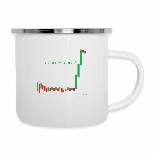 ex-squeeze me? - Camper Mug