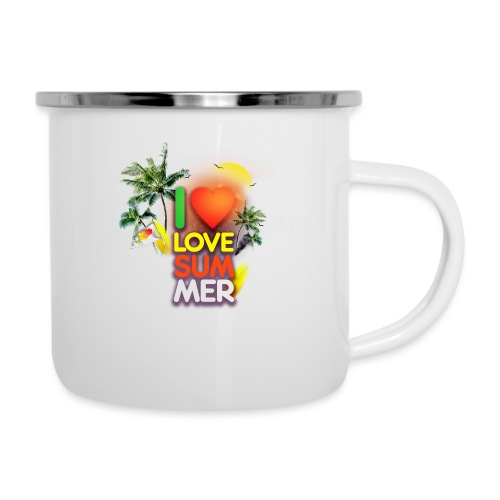 I love summer - Camper Mug