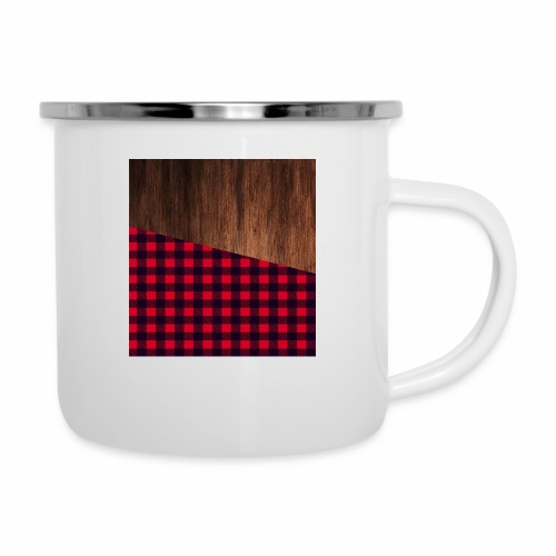 Wooden shirt - Camper Mug