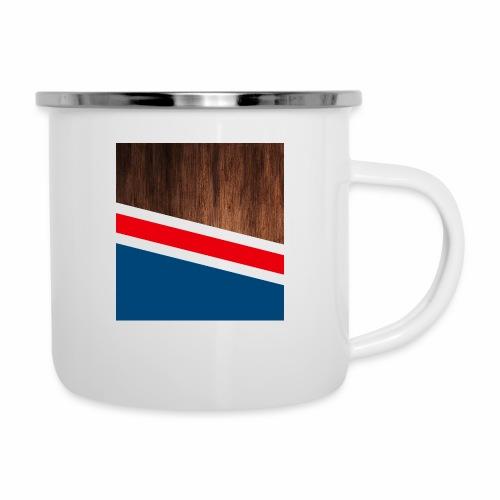 Wooden stripes - Camper Mug