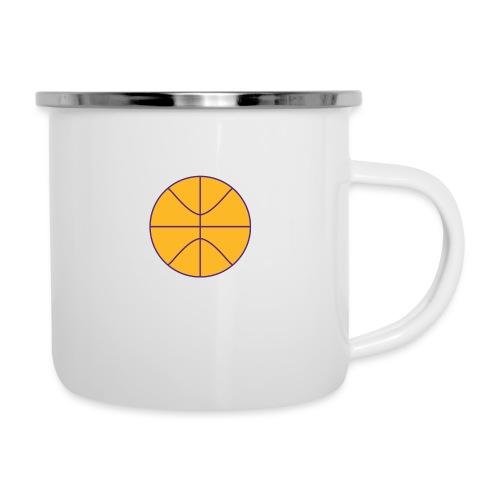 Basketball purple and gold - Camper Mug