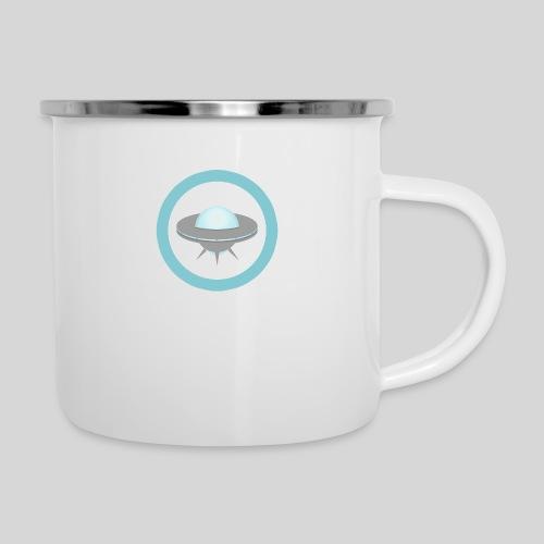 ALIENS WITH WIGS - Small UFO - Camper Mug