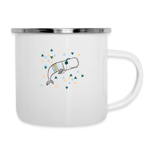 Music Whale - Camper Mug