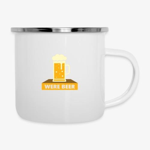 wish you were beer - Camper Mug