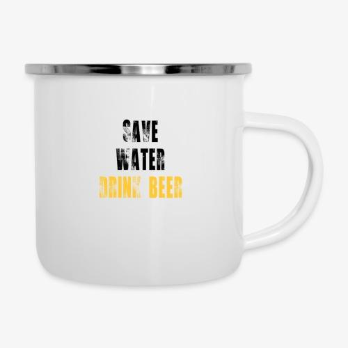 Save water drink beer - Camper Mug