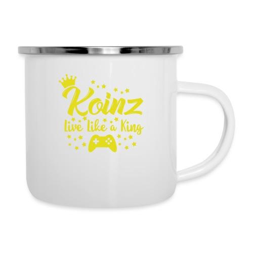 Live Like A King - Camper Mug