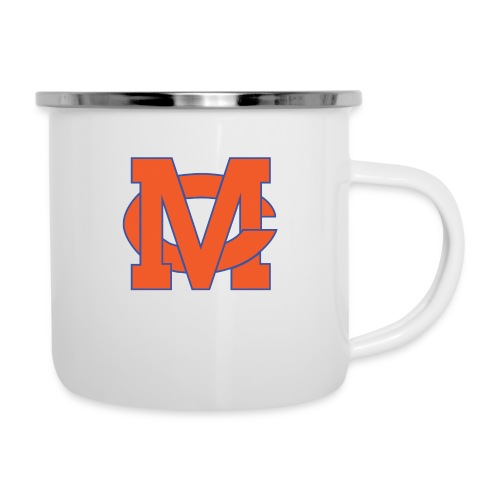 interlocking MC vector - Camper Mug