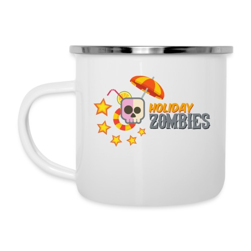 Holiday Zombies logo - Camper Mug