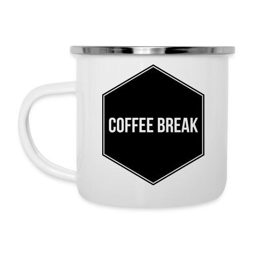 Coffee Break logo - Camper Mug