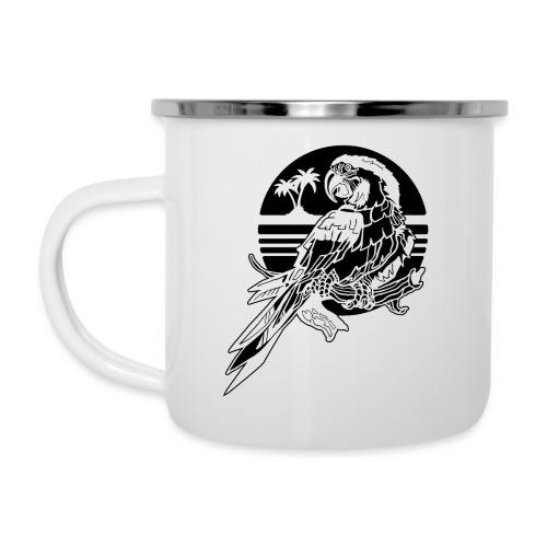 Tropical Parrot - Camper Mug