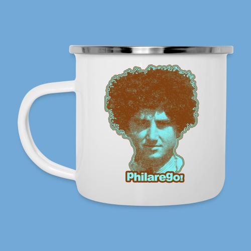 Shaggy Hair man. - Camper Mug