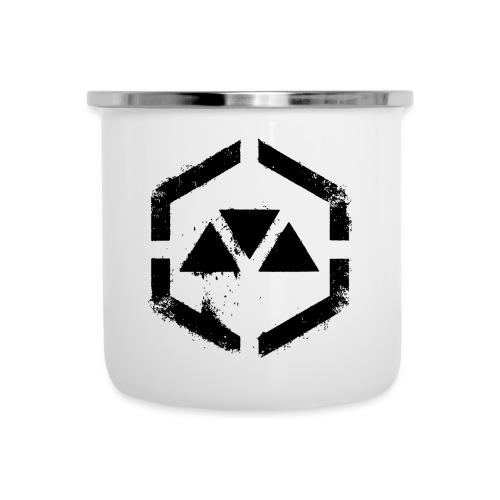 MOVEMENT WAR logo - Camper Mug