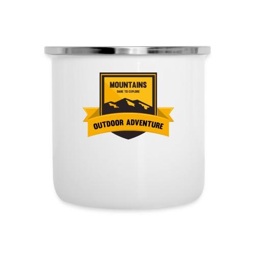 Mountains Dare to explore T-shirt - Camper Mug