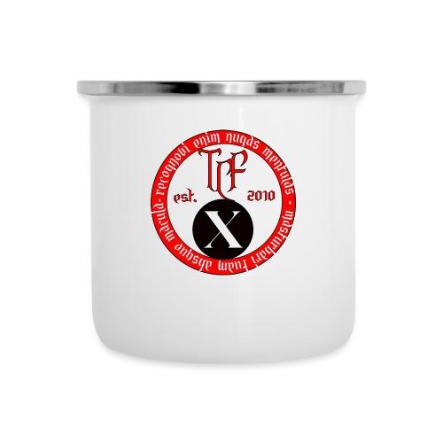 10th Anniversary Medallion - Camper Mug
