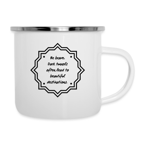 Be Brave - Leads to Beautiful Destinations - Camper Mug