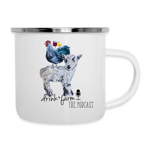Drink & Farm Logo - Camper Mug