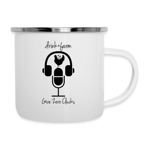 Give Zero Clucks - Camper Mug