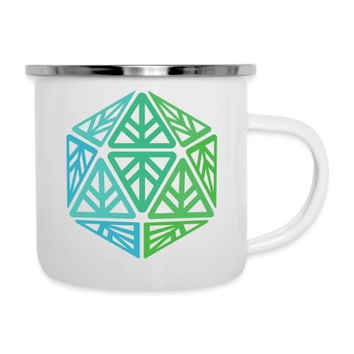 Green Leaf Geek Iconic Logo - Camper Mug