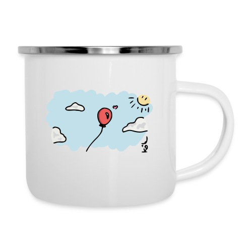 Balloon in Love - Camper Mug