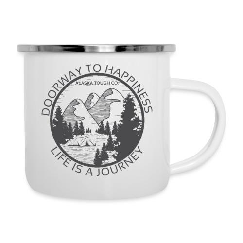 Life is a Journey Design - Camper Mug