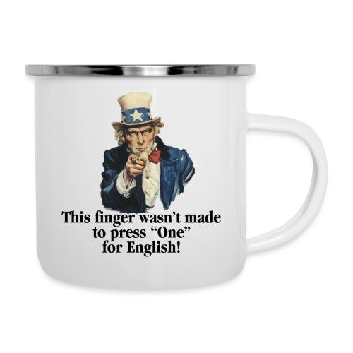Uncle Sam - Finger - Camper Mug