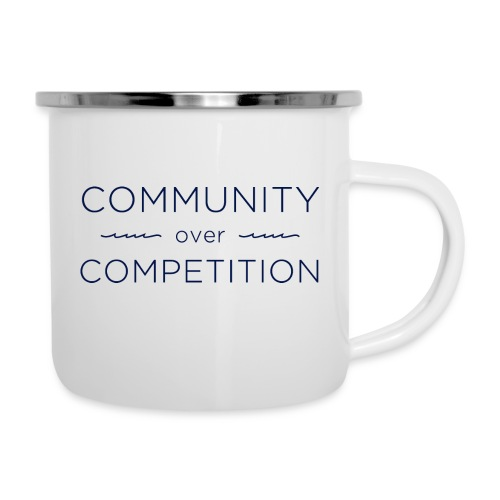 Community Over Competitio - Camper Mug