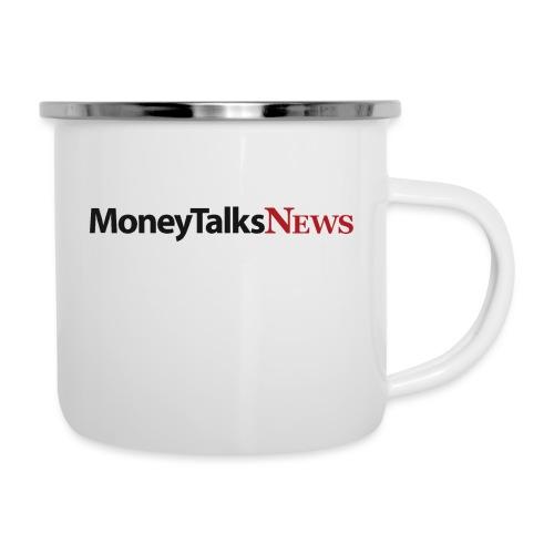 Money Talks News Logo - Camper Mug
