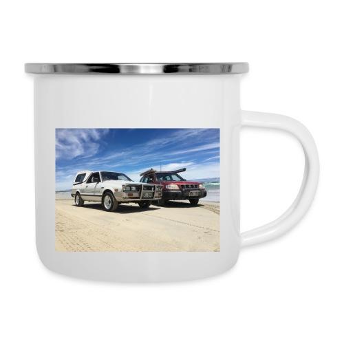 Subaru off roading - Camper Mug
