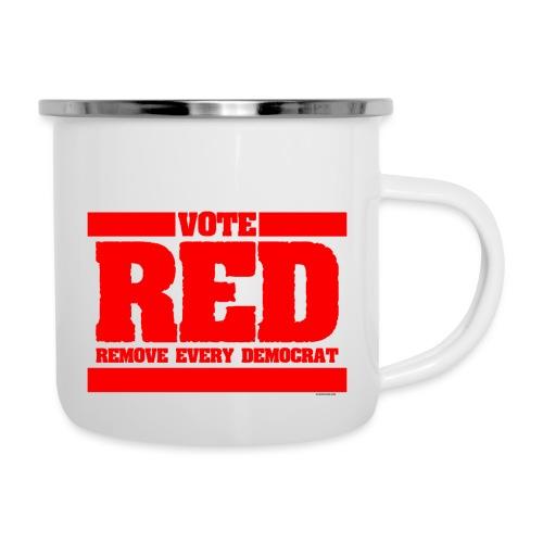 Remove every Democrat - Camper Mug