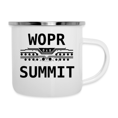 WOPR Summit 0x0 Black Text Misc - Camper Mug