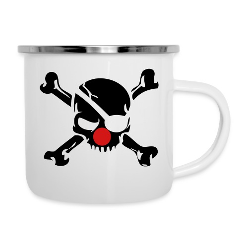 Clown Jolly Roger Pirate - Camper Mug