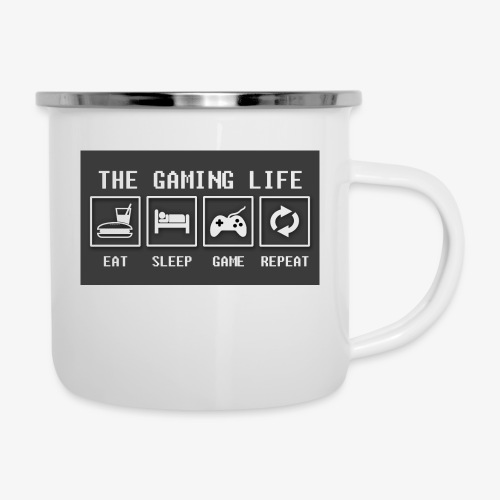 Gaming is life - Camper Mug