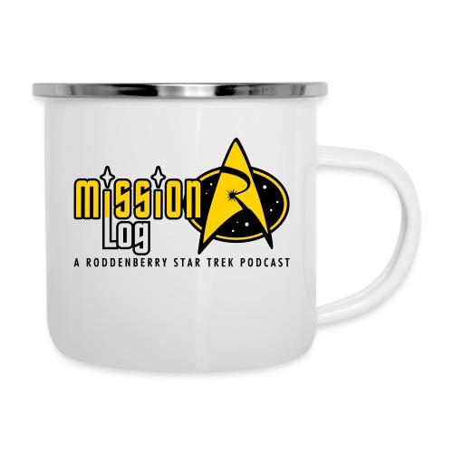Logo Wide 2 Color Black Text - Camper Mug