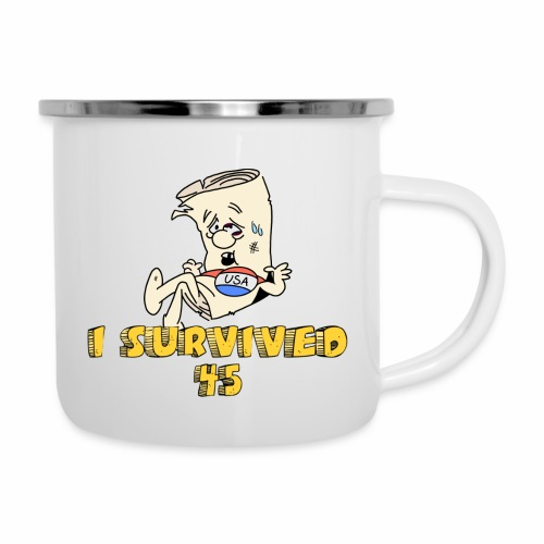 I Survived 45 - Camper Mug