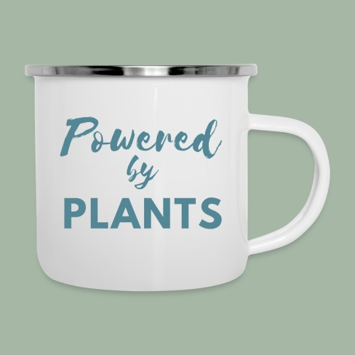 Powered by Plants - Camper Mug
