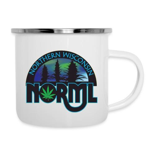 Northern Wisconsin NORML Official Logo - Camper Mug