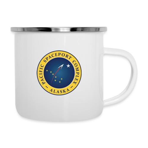 PacificSpaceport logo main 150ppi - Camper Mug