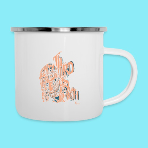 The Lord is my strength Psalm 28:7 - Camper Mug