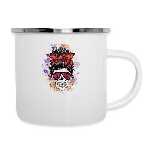 Hippie Skull - Camper Mug