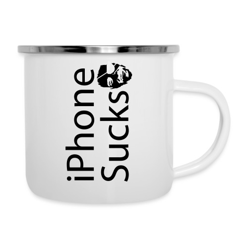 iPhone Sucks - Camper Mug