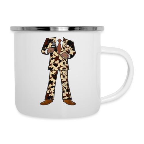 The Classic Cow Suit - Camper Mug