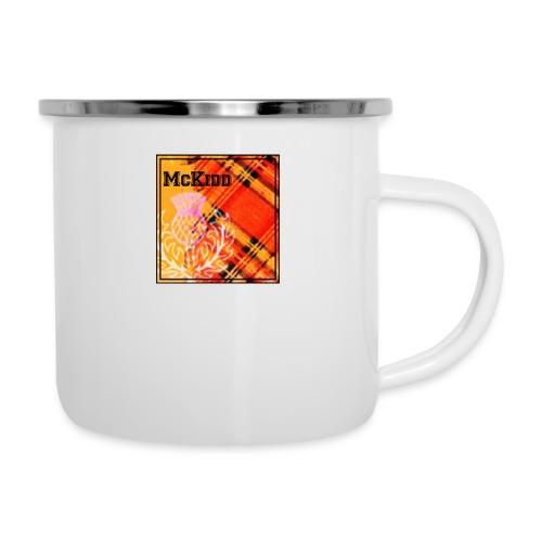mckidd name - Camper Mug