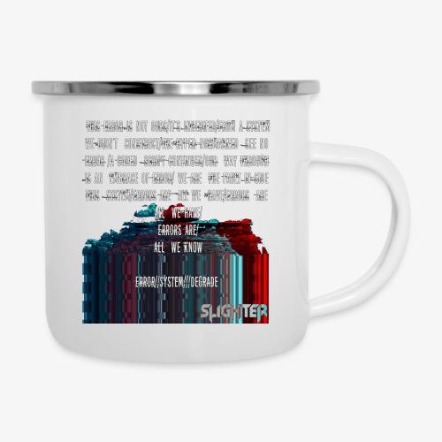 ERROR Lyrics - Camper Mug
