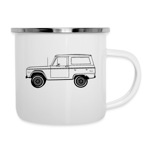 Bronco Truck Line Art Men's T-Shirt - Camper Mug