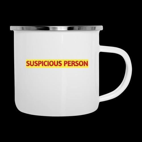 YOU ARE SUSPECT & SUSPICIOUS - Camper Mug