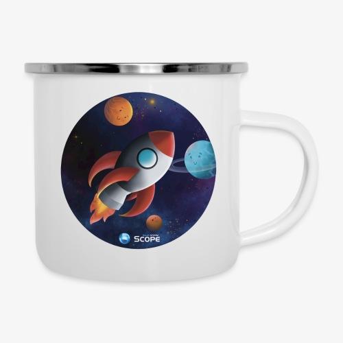 Solar System Scope : Little Space Explorer - Camper Mug