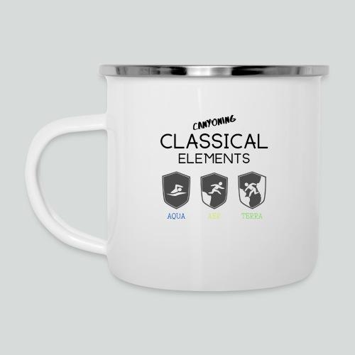 CLASSICAL ELEMENTS-on light back-2 side- all badge - Camper Mug