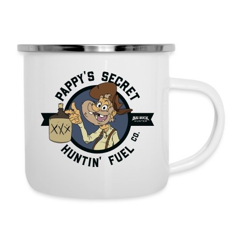 Pappy's Secret Hunting Fuel! - Black - Camper Mug