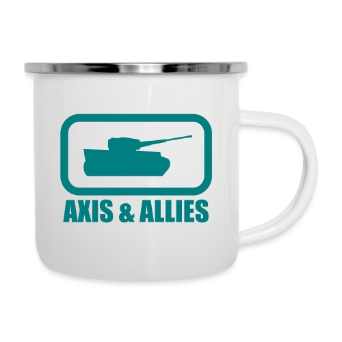 Tank Logo with Axis & Allies text - Multi-color - Camper Mug
